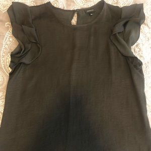 "Tops - Two black ""silky"" tops"